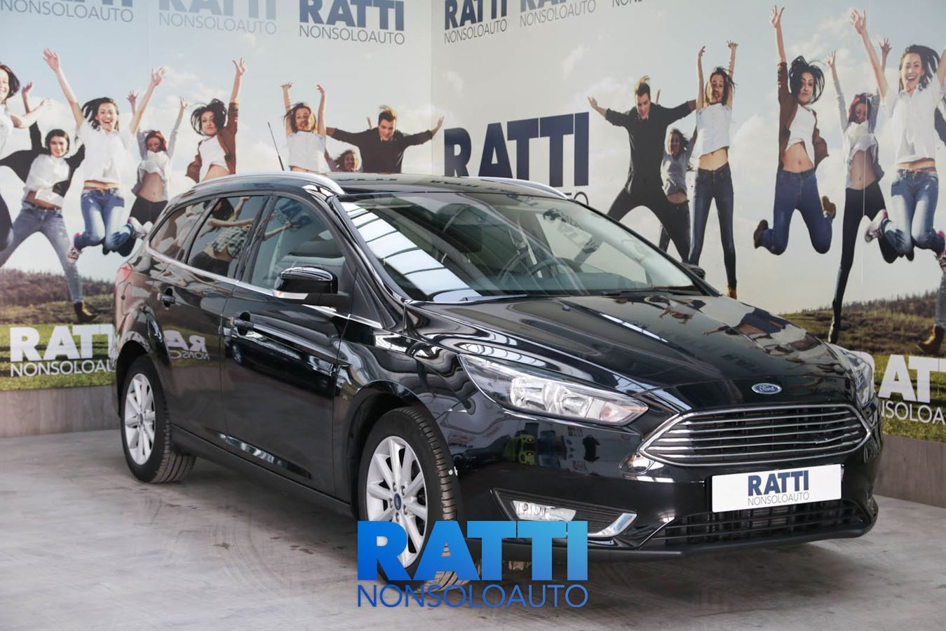 FORD Focus 1.5 TDCi 120 CV Start&Stop SW TITANIUM SHADOW BLACK cambio Manuale Diesel Aziendale station wagon 5 porte 5 posti EURO 6