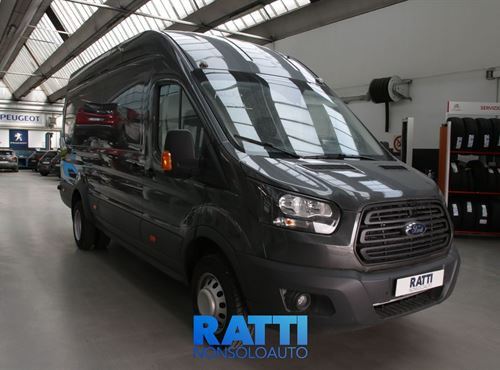 Ford Transit 350 2.0 130cv Jumbo Entry L4H3 E6 Grigio Magnetic cambio Manuale Diesel