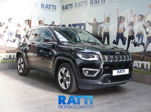 JEEP Compass 1.6 120CV Multijet II 2WD Limited  Diamond Black  cambio Manuale Diesel Km 0 station wagon 5 porte 5 posti EURO 6