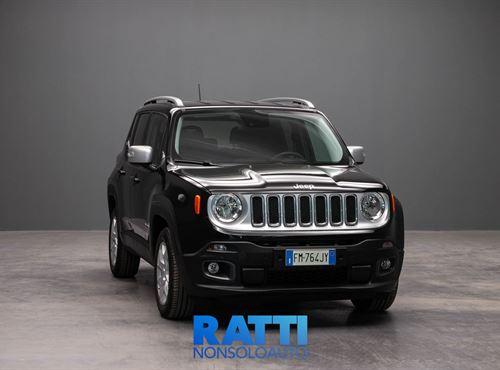 JEEP Renegade 1.6 Mjt 120CV Longitude Carbon Black cambio Manuale Diesel Km 0 station wagon 5 porte 5 posti EURO 6