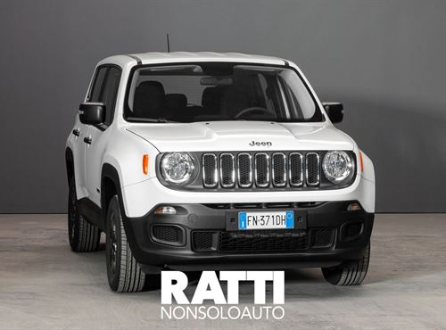 JEEP Renegade 2.0 Mjt 4WD Sport Alphine white cambio Manuale Diesel