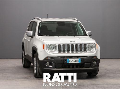 JEEP Renegade 1.6 Mjt 120 CV Limited Alphine White cambio Manuale Diesel Km 0 station wagon 5 porte 5 posti EURO 6