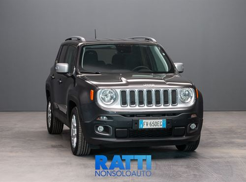 JEEP Renegade 1.6 Mjt 120 CV Limited Granite Chrystal cambio Manuale Diesel