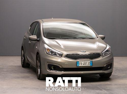 KIA cee'd 1.6 CRDi 110 CV 5 porte Active Sirius Silver cambio Manuale Diesel Usato ritirato berlina due volumi 5 porte 5 posti EURO 6