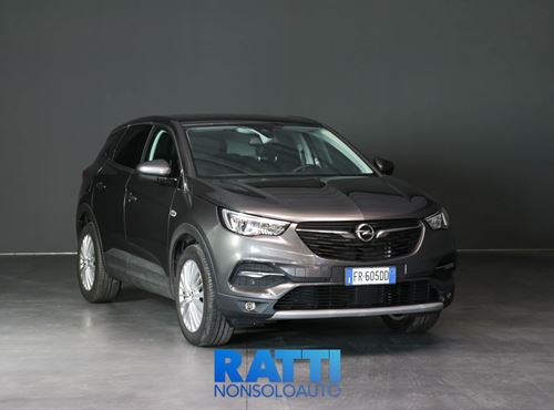 OPEL Grandland X 1.6 120cv S&S Innovation GRIS PLATINUM cambio Manuale Diesel Aziendale station wagon 5 porte 5 posti EURO 6