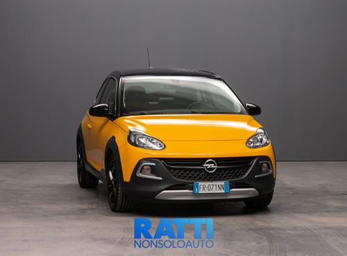 OPEL Adam Rocks AIR 1.4 87CV Auto  ORANGE ALERT cambio Automatico Benzina Aziendale berlina due volumi 3 porte 4 posti EURO 6