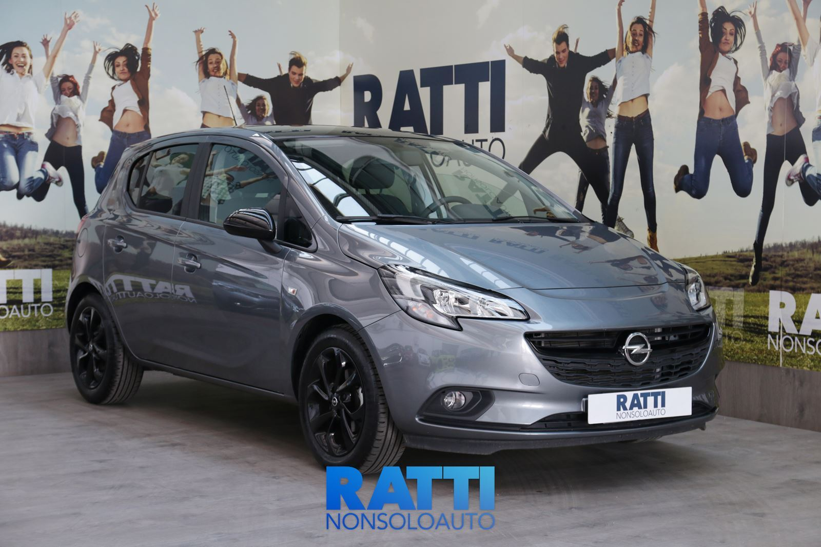 OPEL Corsa 5P B-Color 1.4 75CV MT SATIN STEEL GREY cambio Manuale Benzina Aziendale berlina due volumi 5 porte 5 posti EURO 6