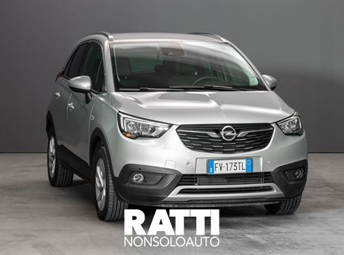 OPEL Crossland X 1.2 Turbo 12V 110CV  Innovation + CAMERA PACK Sovereign Silver  cambio Manuale Benzina