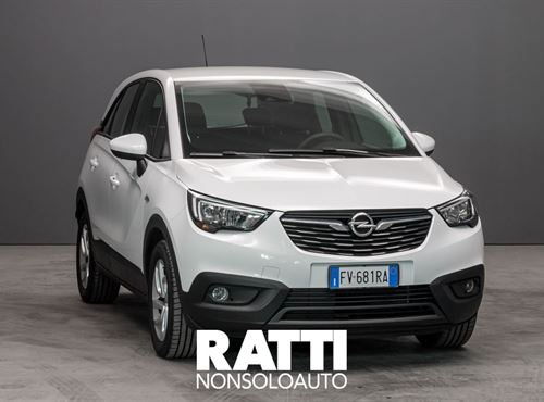 OPEL Crossland X 1.2 82CV Advance Olympic White cambio Manuale Benzina