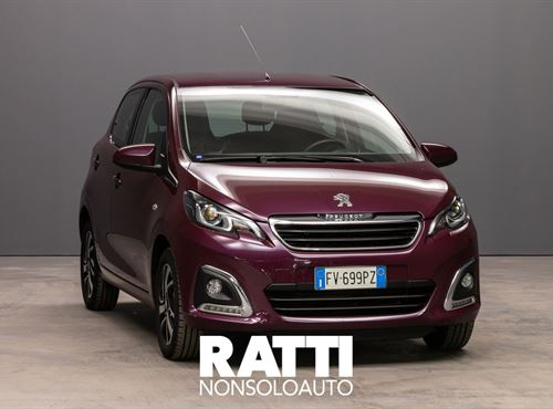PEUGEOT 108 VTi 1.0 72CV 5P. Allure RED PURPLE cambio Manuale Benzina