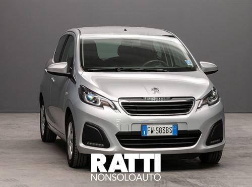 PEUGEOT 108 VTi 1.0 72CV 5P. Active GRIGIO GALLIUM cambio Manuale Benzina
