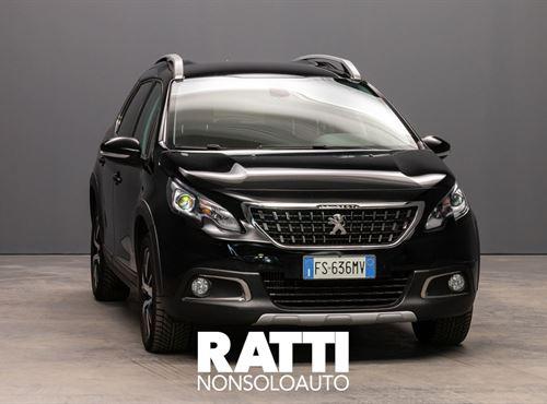 PEUGEOT 2008 PureTech Turbo 1.2 110CV EAT6 S&S Allure NERO PERLA cambio Automatico Benzina