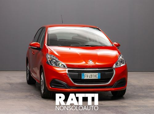 PEUGEOT 208 PureTech 1.2 82CV 5P. Active + NAVI ORANGE POWER cambio Manuale Benzina Aziendale berlina due volumi 5 porte 5 posti EURO 6