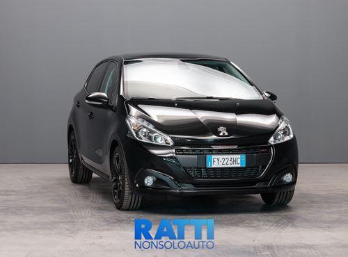 PEUGEOT 208 PureTech 1.2 110CV EAT6 S&S GT Line Nero Perla cambio Automatico Benzina Km 0 berlina due volumi 5 porte 5 posti EURO 6