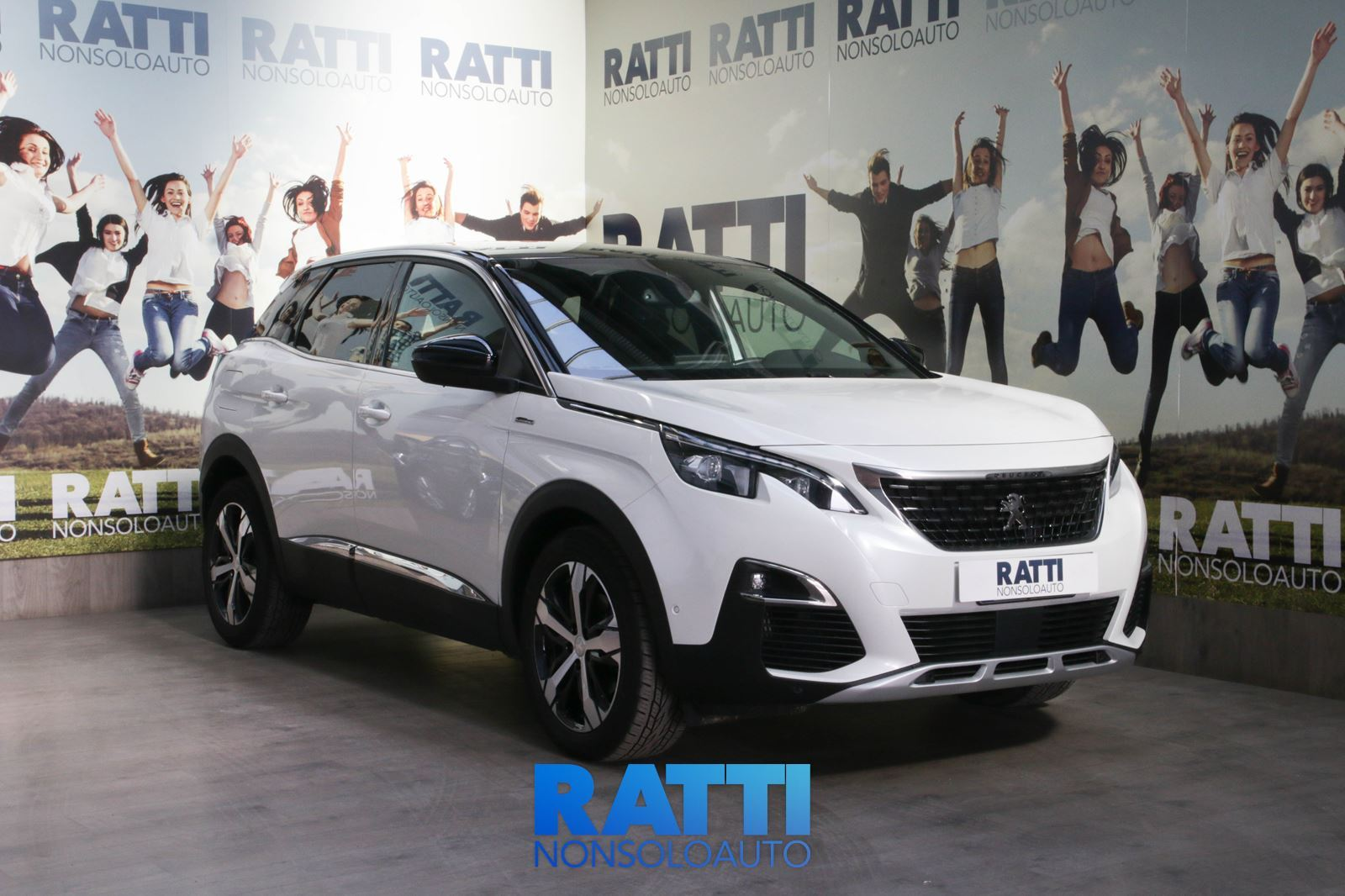PEUGEOT 3008 BlueHDi 1.5 130CV S&S GT Line + Active Safety Brake Bianco Madreperla  cambio Manuale Diesel Aziendale station wagon 5 porte 5 posti EURO 6