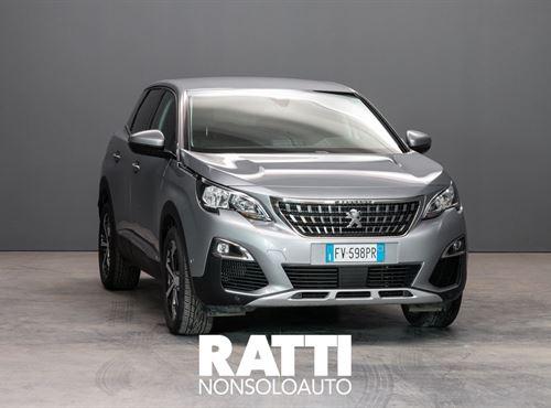 PEUGEOT 3008 PureTech Turbo 1.2 130CV S&S Allure GRIGIO ARTENSE cambio Manuale Benzina Aziendale station wagon 5 porte 5 posti EURO 6