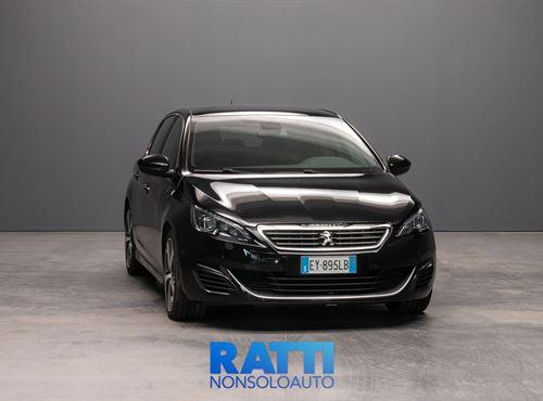 PEUGEOT 308 BlueHDi 2.0 180CV EAT6 S&S GT Nera cambio Automatico Diesel Usato ritirato berlina due volumi 5 porte 5 posti EURO 6