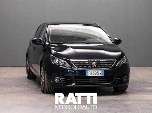 PEUGEOT 308 BlueHDi 1.5 130CV EAT8 S&S Allure DARK BLU cambio Automatico Diesel Aziendale berlina due volumi 5 porte 5 posti EURO 6
