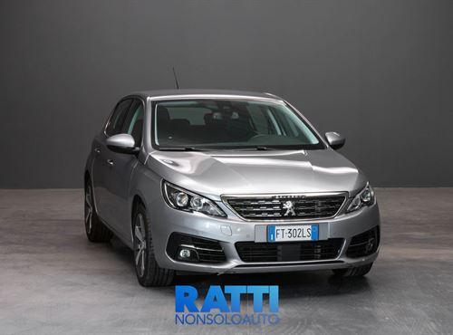 PEUGEOT 308 BlueHDi 1.5 130CV EAT8 S&S Allure GRIGIO ARTENSE cambio Automatico Diesel