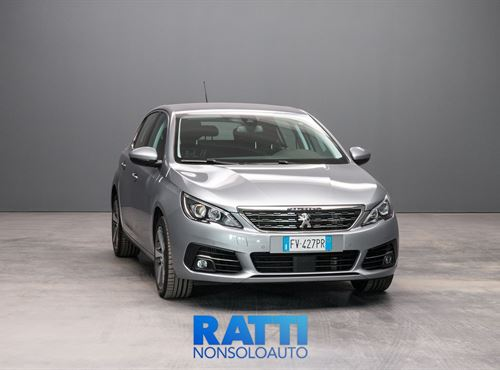 PEUGEOT 308 BlueHDi 1.5 130CV EAT8 S&S Allure GRIGIO ARTENSE cambio Automatico Diesel Aziendale berlina due volumi 5 porte 5 posti EURO 6