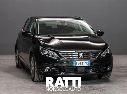 PEUGEOT 308 PureTech Turbo 1.2 130CV S&S Allure Nero Perla cambio Manuale Benzina
