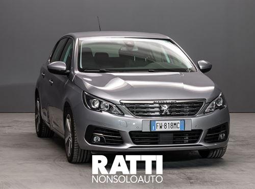 PEUGEOT 308 BlueHDi 1.5 130CV EAT6 S&S Allure Grigio Artense  cambio Automatico Diesel