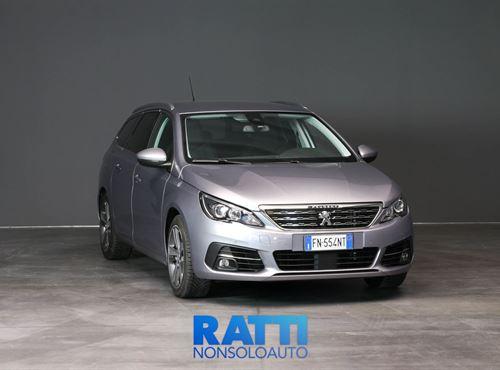 PEUGEOT 308 SW BlueHDi 1.6 120CV EAT6 S&S Allure Grigio Artense cambio Automatico Diesel Aziendale station wagon 5 porte 5 posti EURO 6