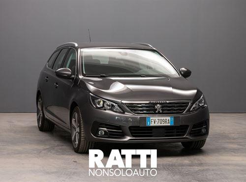 PEUGEOT 308 SW BlueHDi 1.5 130CV S&S Allure GRIGIO PLATINUM cambio Manuale Diesel Aziendale station wagon 5 porte 5 posti EURO 6