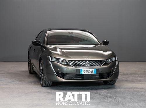 Peugeot Nuova 508  PureTech Turbo 1.6 225CV EAT8 GT Grigio Amazonite cambio Automatico Benzina Aziendale 5 porte 5 posti EURO 6