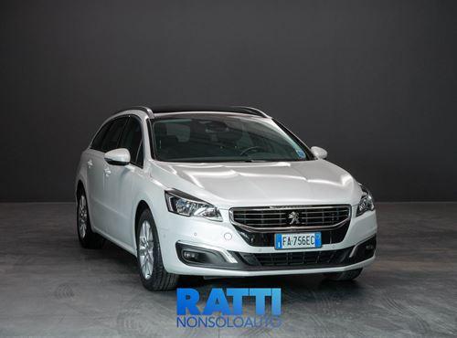 PEUGEOT 508 1.6 e-HDi 115CV ETG6  SW Business Bianco Banchisa cambio Automatico Diesel Usato ritirato station wagon 5 porte 5 posti EURO 5