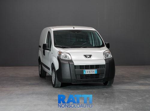 PEUGEOT Bipper HDi-FAP 1.3 75CV Furgone Bianco Banchisa cambio Manuale Diesel Aziendale multispazio 3 porte 2 posti EURO 5