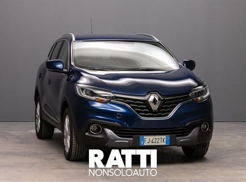 RENAULT Kadjar dCi 8V 110CV EDC Energy Intens Blu Cosmo cambio Automatico Diesel Usato ritirato station wagon 5 porte 5 posti EURO 6
