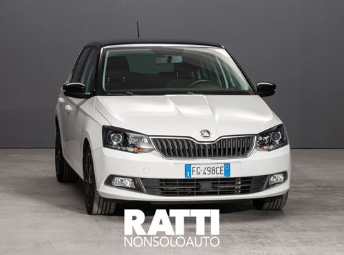 SKODA Fabia 1.0 MPI 75 CV Ambition Bianca cambio Manuale Benzina