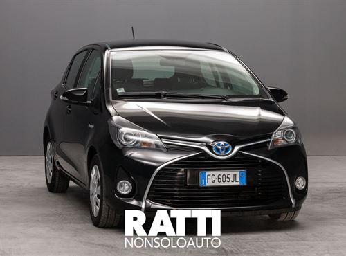TOYOTA Yaris 1.5 Hybrid Business 5p Cool   BLACK METALLIZZATO cambio Automatico Benzina