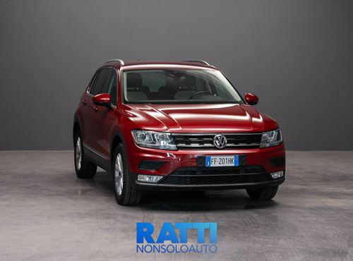 VOLKSWAGEN Tiguan 2.0 TDI SCR 4MOTION BlueMotion Technology ROSSO cambio Manuale Diesel Aziendale station wagon 5 porte 5 posti EURO 6