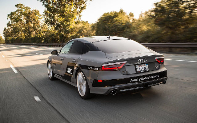 Audi A7 Piloted Driving test drive