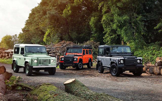 Land Rover Defender 2015: ultimi atti!