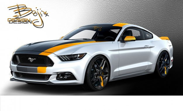 Otto Mustang al SEMA2015 - Las Vegas